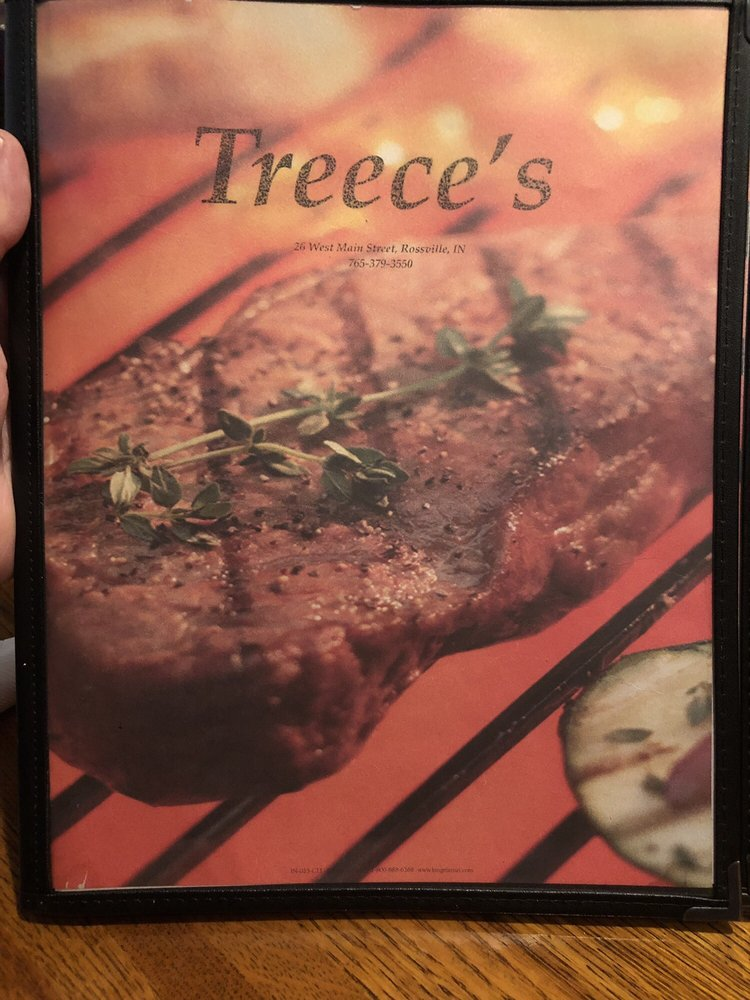 Treece's Restaurant & Lounge: 26 W Main St, Rossville, IN