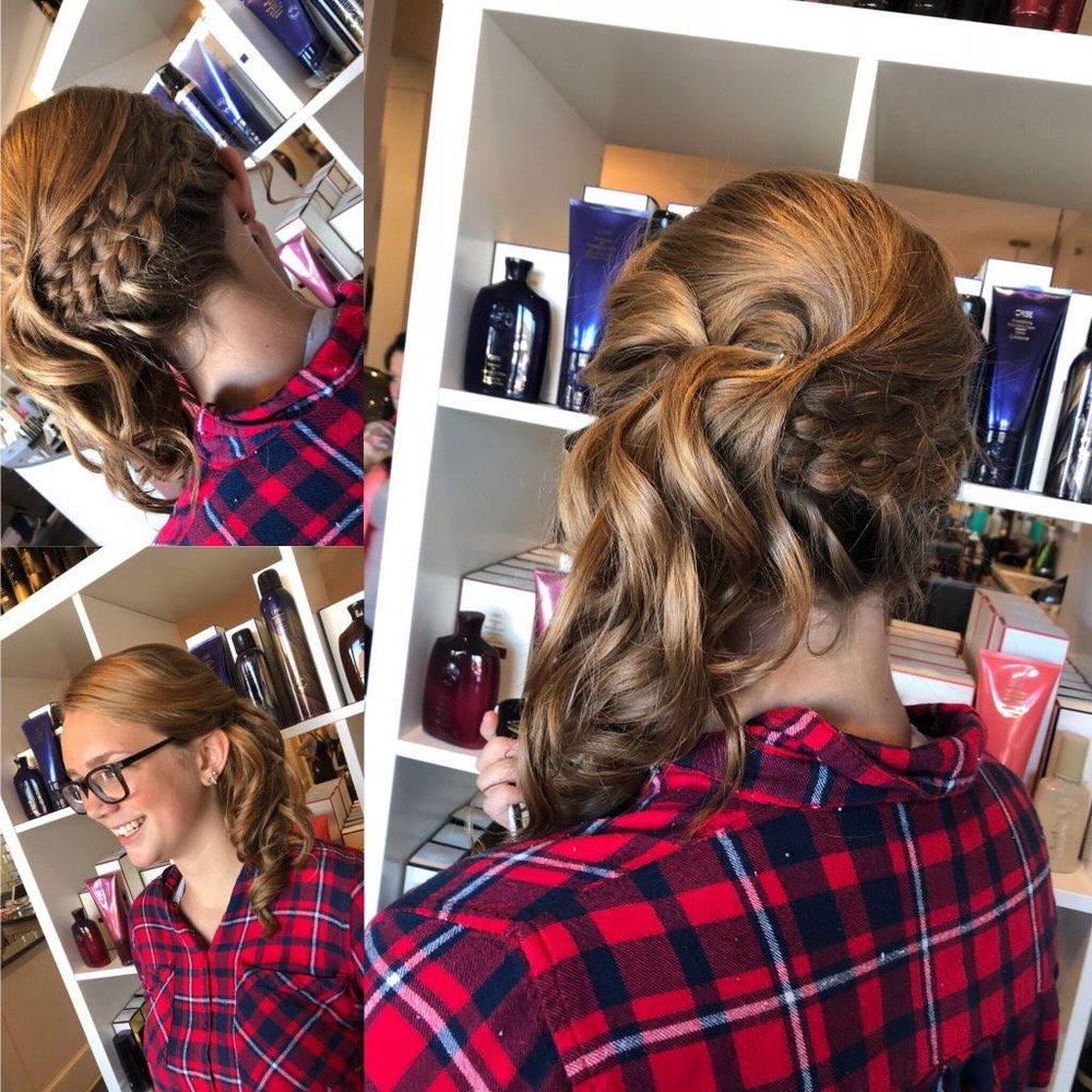 Hair by stylist Jordan Beard. Le Rouge Salon + Beauty Bar. Grand ...