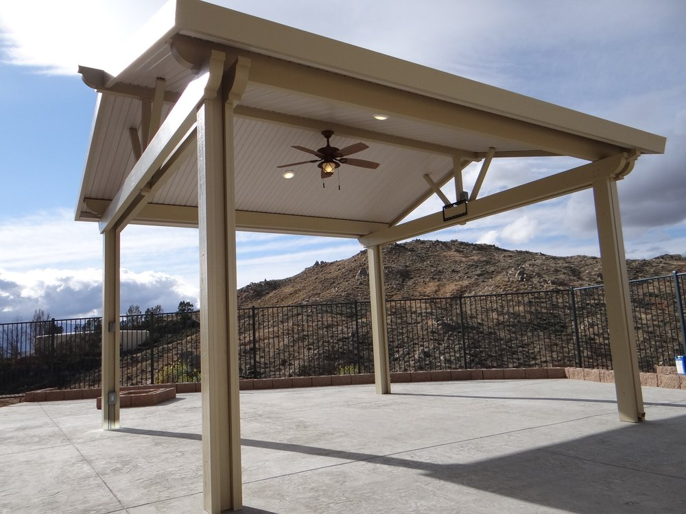 Photo Of Mission Patio Cover   Fontana, CA, United States. Freestanding Gable  Roof