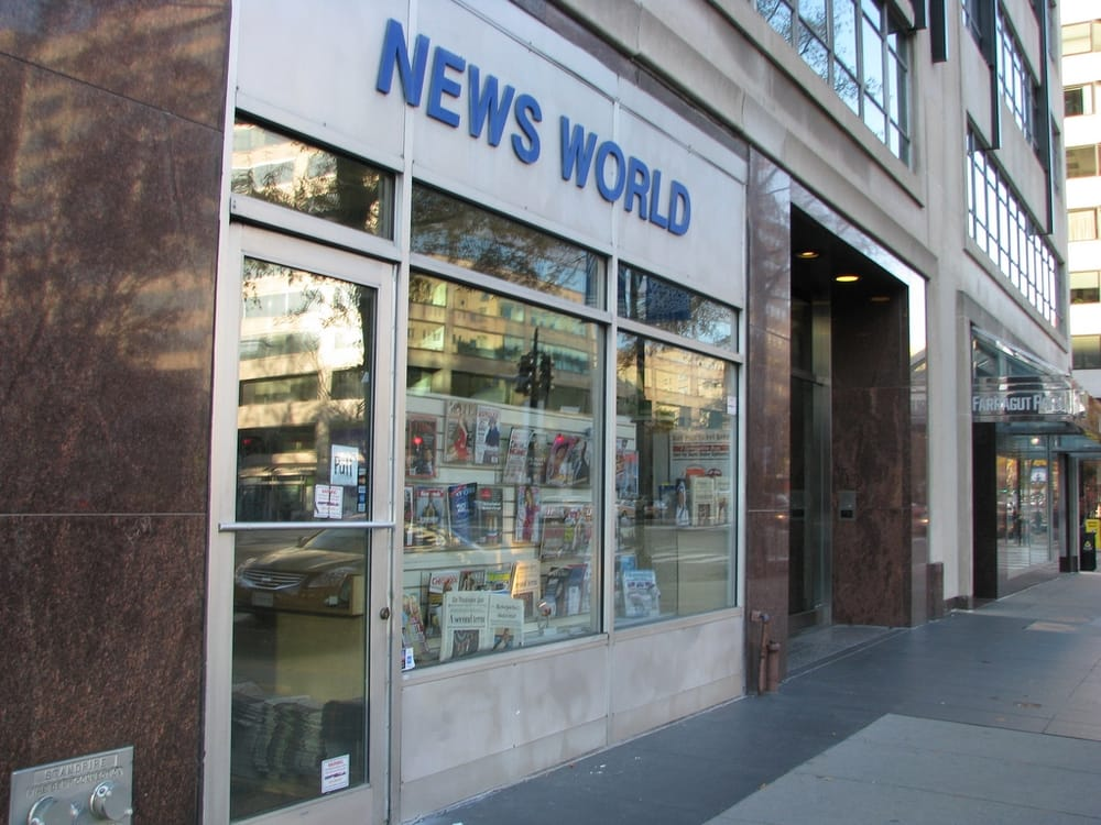 News world closed newsagents connecticut ave nw