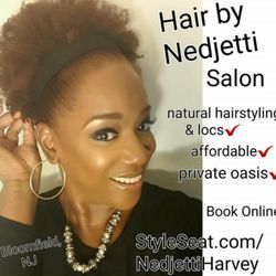 Photo Of Hair By Nedjetti Natural Locs Salon Bloomfield Nj United