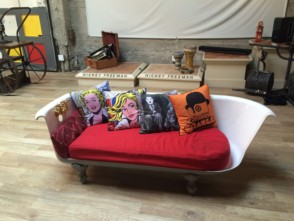 A bathtub chair inspired by the movie, Breakfast at Tiffany\'s. - Yelp