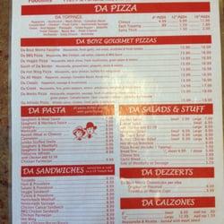 Da boyz pizza coupons yuma az