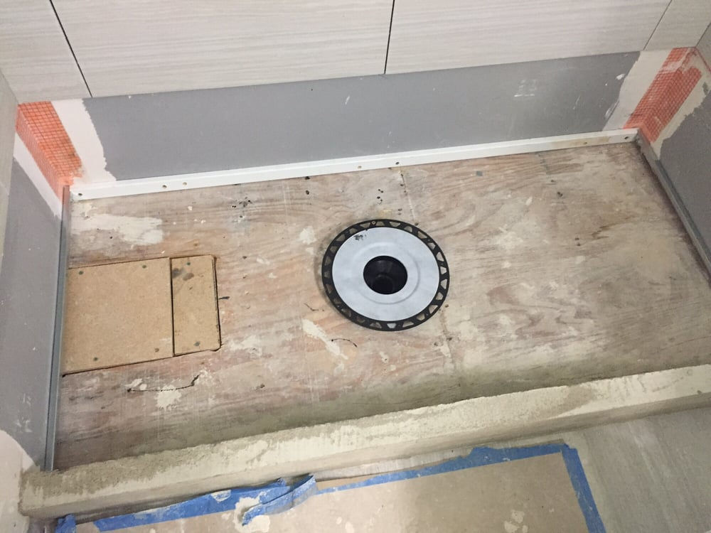 More shower pan yelp for American remodeling