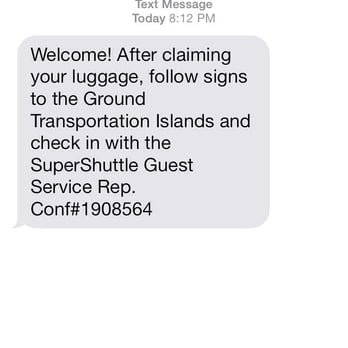 Where can you find the SuperShuttle phone number?