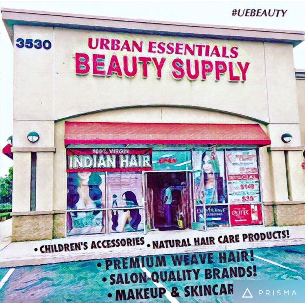 Urban essentials beauty supply yelp for Adazl salon and beauty supply