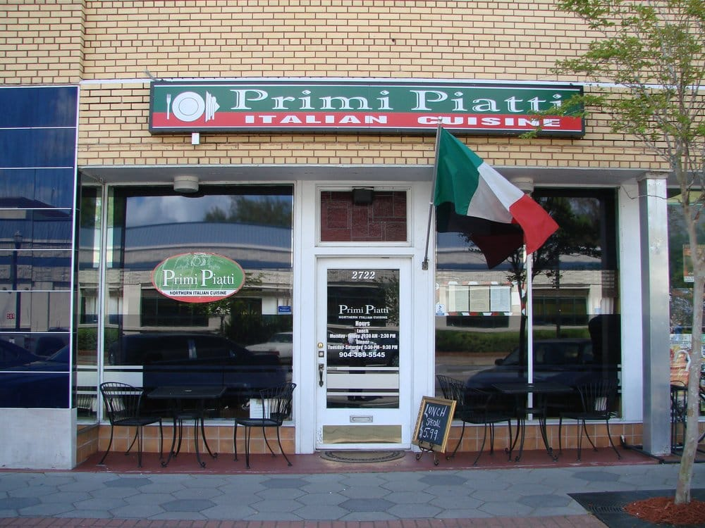 Primi Piatti: 2722 Park St, Jacksonville, FL