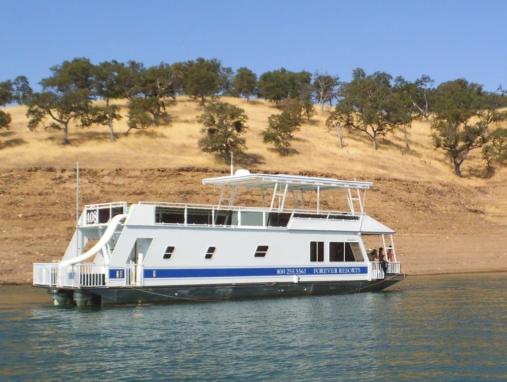 59 ft deluxe rental houseboat yelp for Houseboats for rent in california