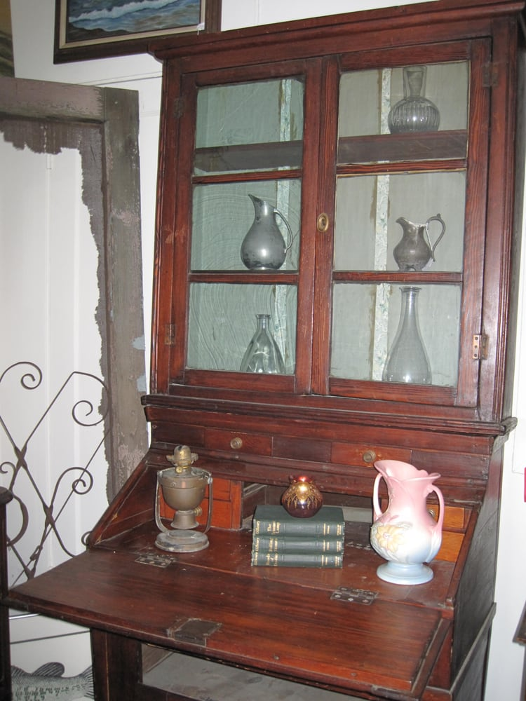 Photo of The Red Door Antiques - Sierra Madre, CA, United States. Antique - Antique Secretary Desk With Hutch. Circa Pre-civil War Era. - Yelp