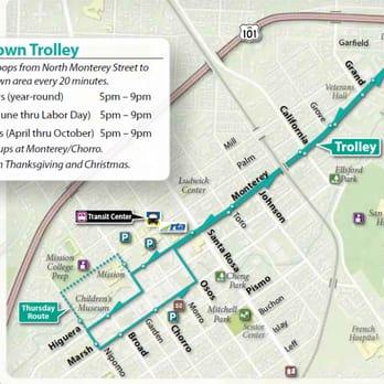 Downtown Trolley Community ServiceNonProfit 345 Marsh St