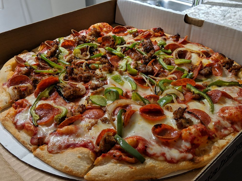 Food from Brenz Pizza Co.