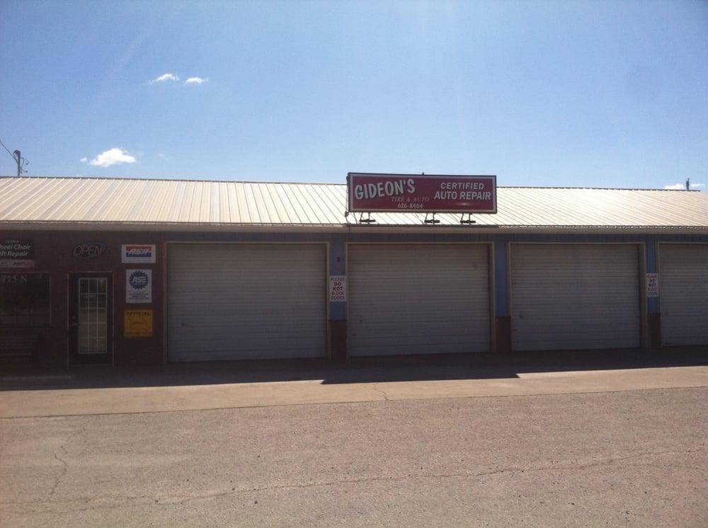 Gideon's Tire & Auto Shop: 715 N Schifferdecker Ave, Joplin, MO