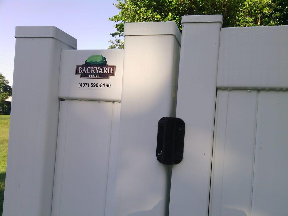 Exceptional Photo Of Backyard Fence   Orlando, FL, United States. Backyard Fence Company  Did