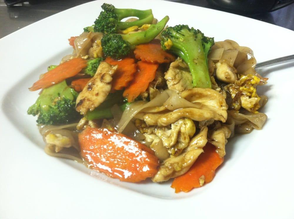 Pad see u yelp for Anong thai cuisine