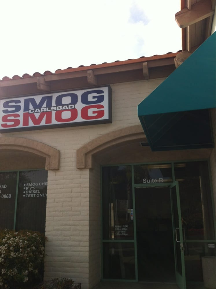 Carlsbad Smog-Test Only Center: 1060 Auto Center Ct, Carlsbad, CA