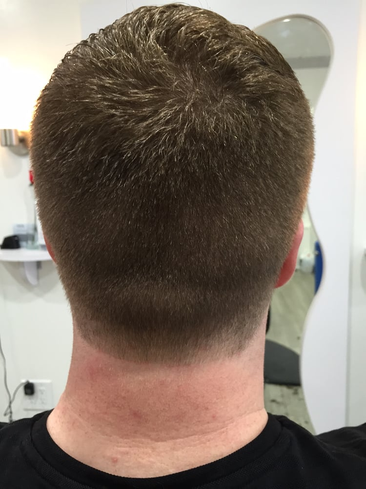 haircut costa mesa haircut with taper on neckline yelp 4097