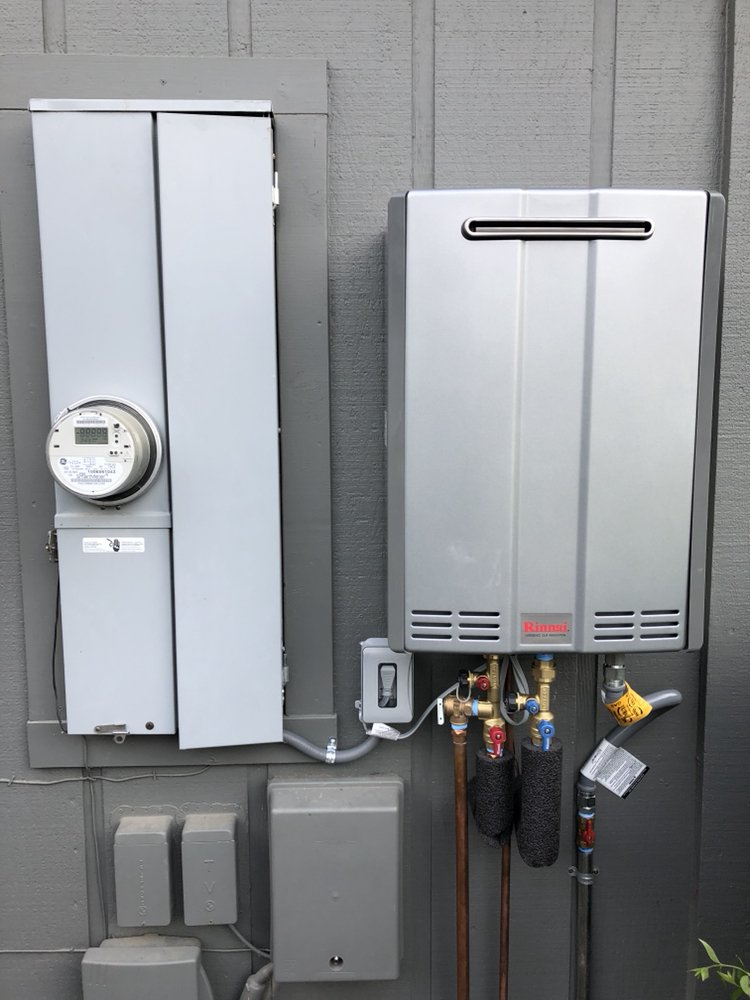 Tankless Water Heater Exterior Mount Yelp