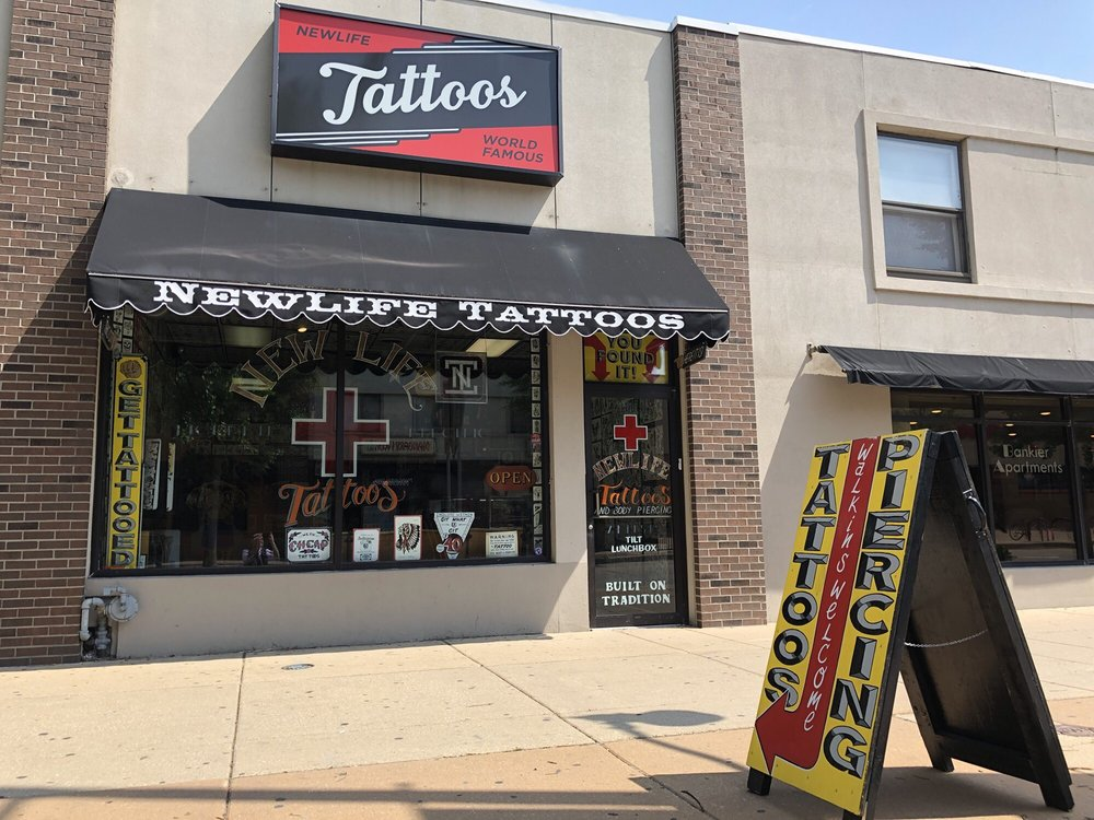 New Life Tattoos: 404 E Green St, Champaign, IL