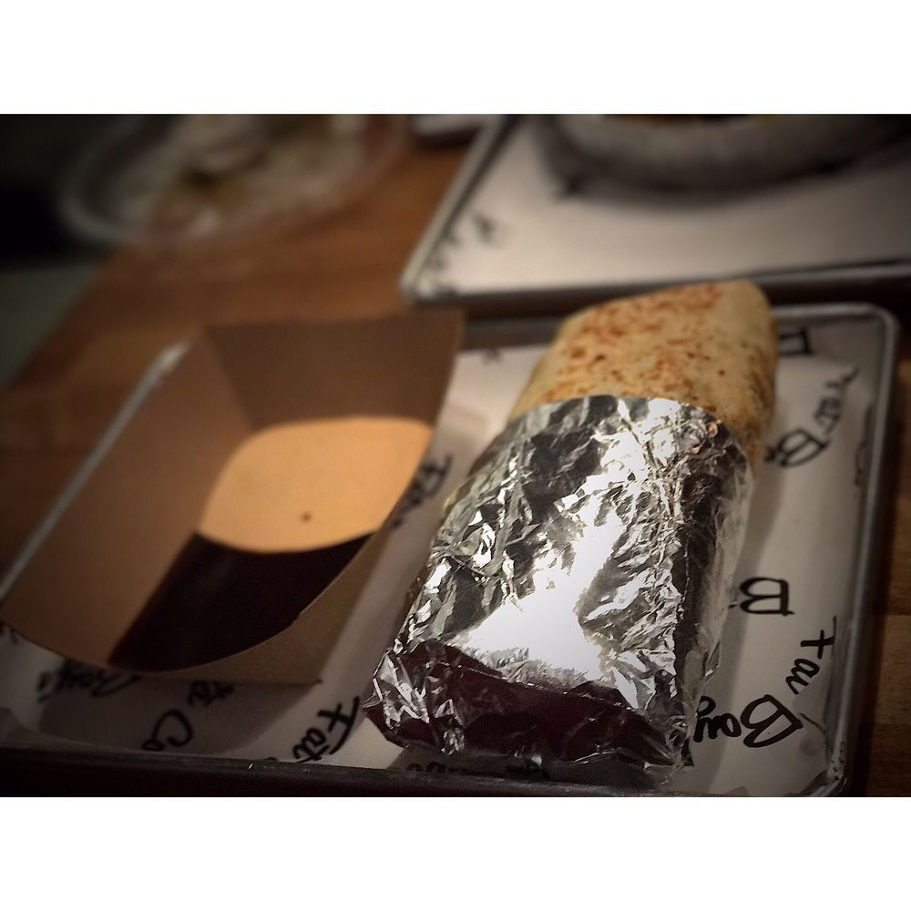 Food from Fat Boys Burrito