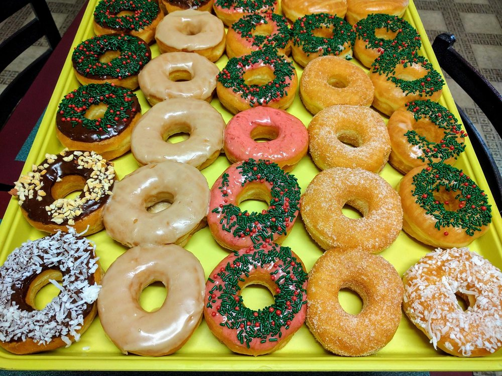 Florence Donuts: 106 N Patterson Ave, Florence, TX