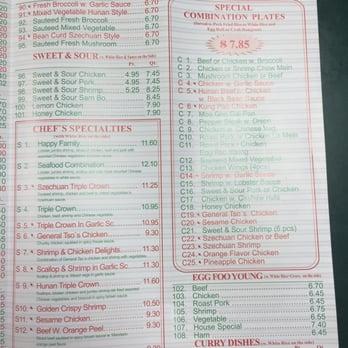 New China Collinsville Il Restaurant Menu