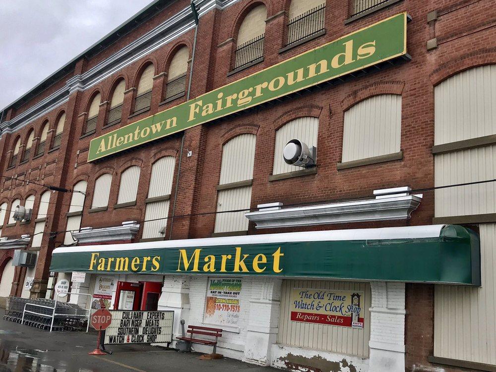 Allentown Fairgrounds Farmers Market: 1825 W Chew St, Allentown, PA