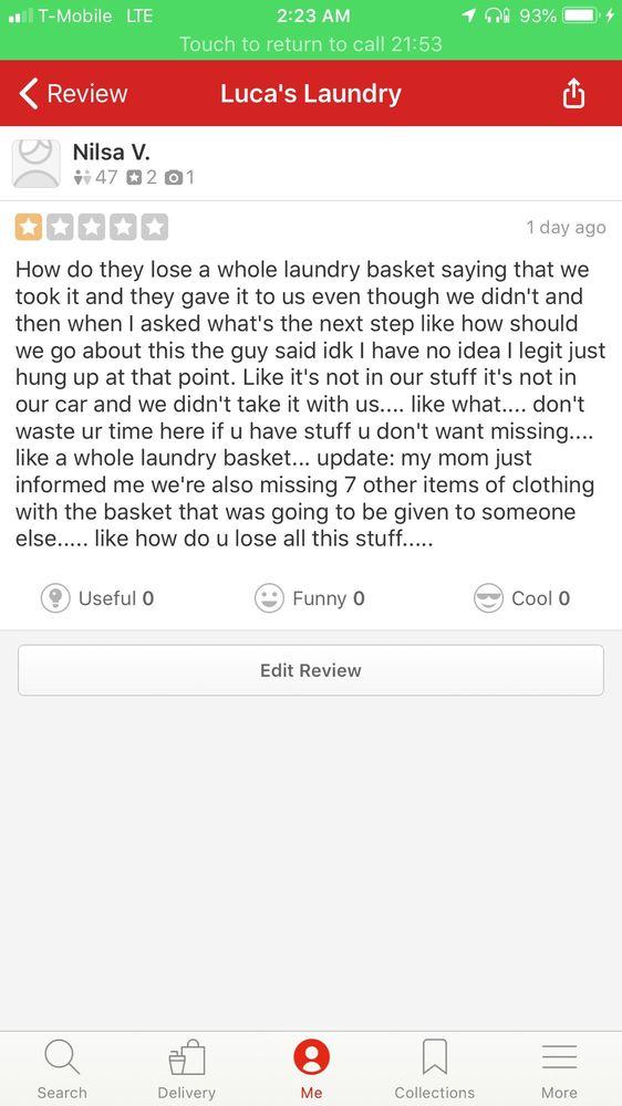 Luca's Laundry: 20 S White Horse Pike, Somerdale, NJ