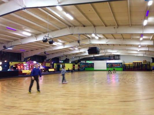 Roller skating manassas