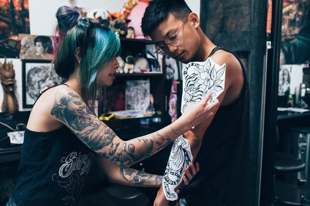 Skin Design Tattoo