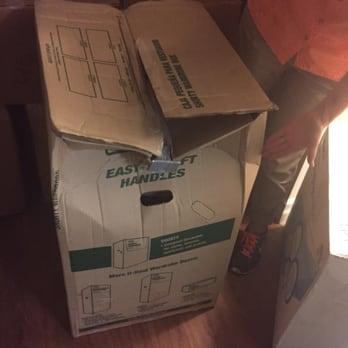 Photo Of Olympia Moving U0026 Storage   Skokie, IL, United States. Smashed Boxes
