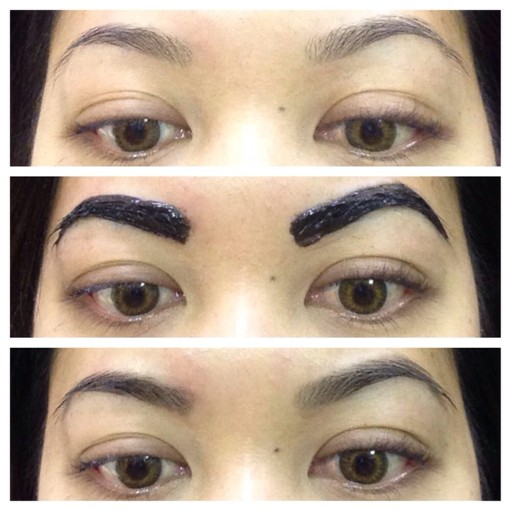 Tired of penciling or powdering your eyebrows? Try Eyebrow tinting ...