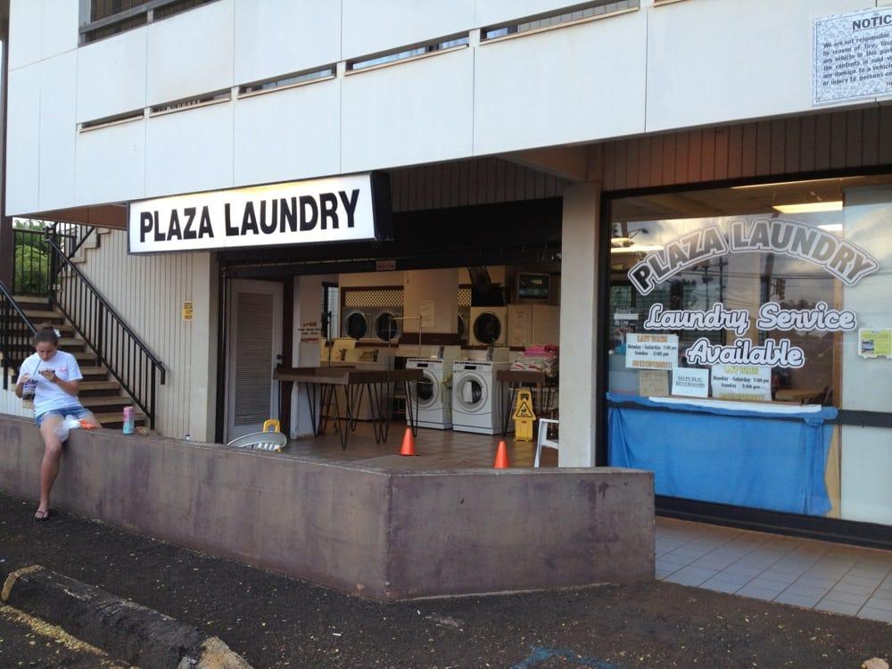 Plaza Laundry: 3-4291 Kuhio Hwy, Lihue, HI