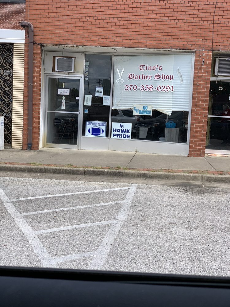 Tino's Barber Shop: 29 Lincoln Square, Hodgenville, KY