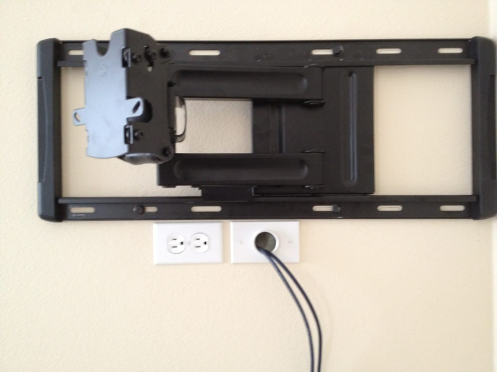 Photo of HAVE Electric - Carlsbad CA United States. Deluxe TV Wall mount : wall mount tv wiring - yogabreezes.com