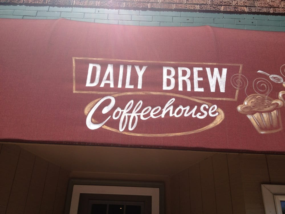 Daily Brew Coffeehouse: 1205 15th Ave, Bloomer, WI