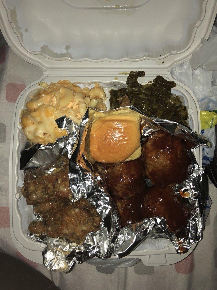 Food from Spunkies Soul Food