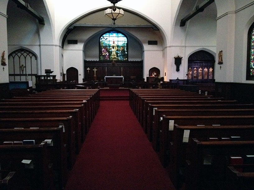 Interior Of The Episcopal Church Of St John The