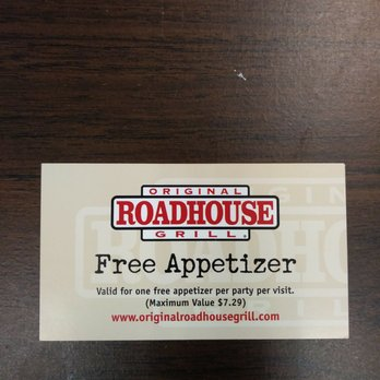 Original roadhouse grill coupons 2019