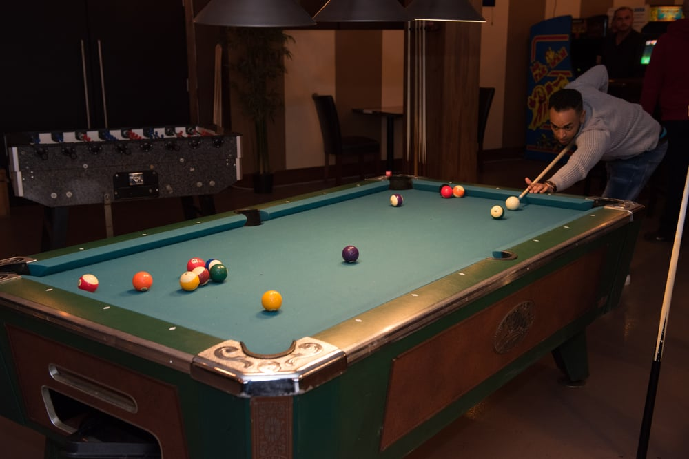 Pool Or Jitz Anyone Yelp - Old school pool table