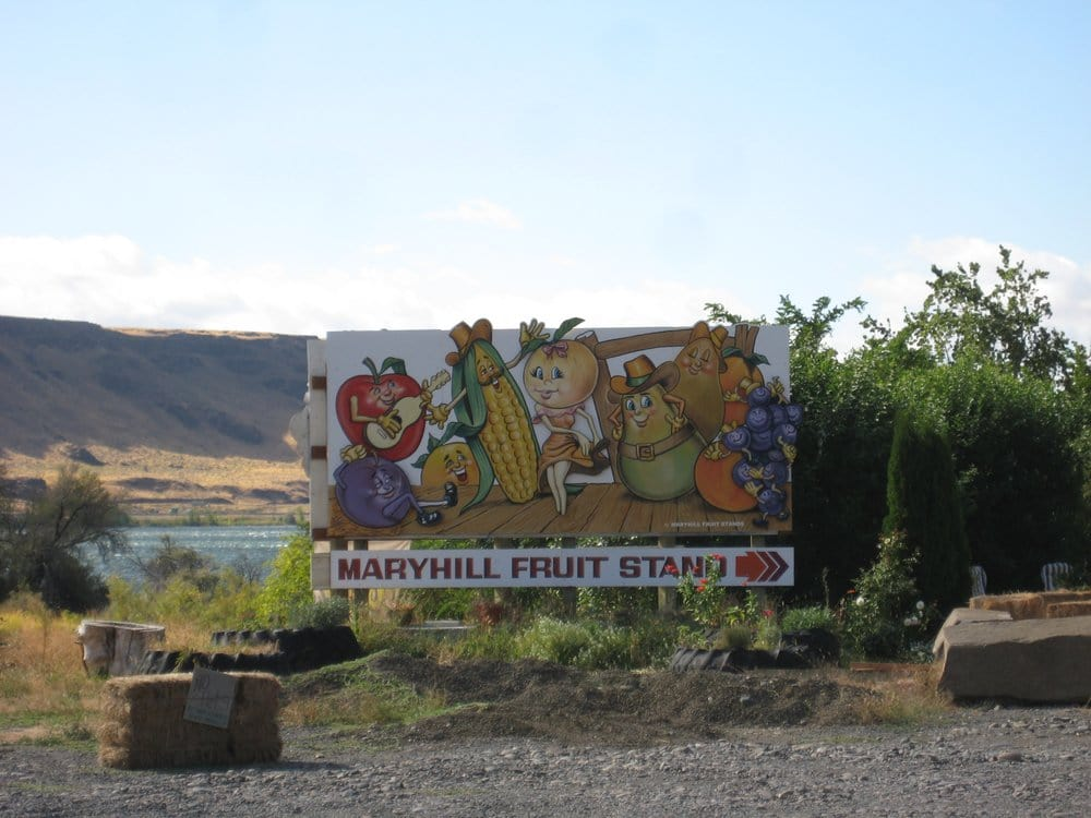 Maryhill Fruit Stand & Orchard: 125 Maryhill Hwy, Goldendale, WA