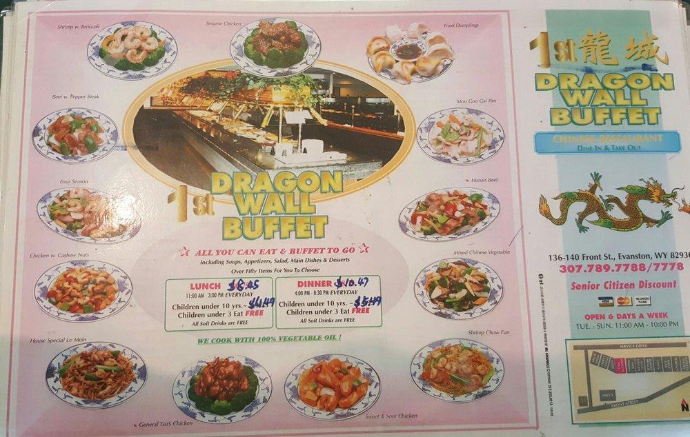 Dragon Wall Restaurant: 140 Front St, Evanston, WY