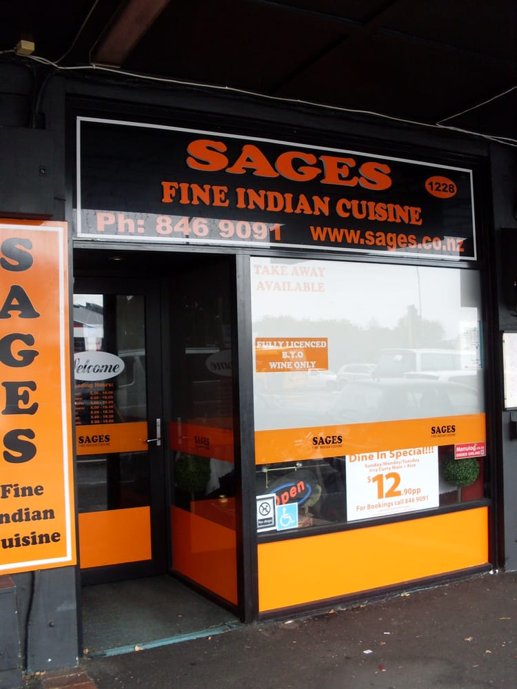 Sages indian restaurant cucina indiana 1228 great for Ajadz indian cuisine auckland