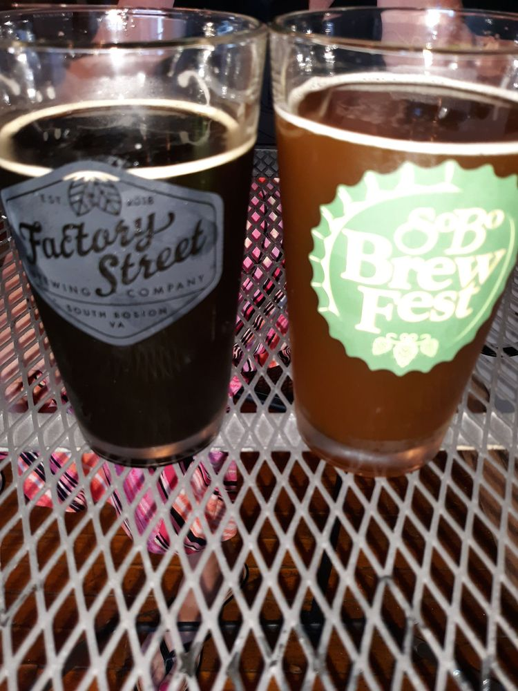 Factory Street Brewery: 210 Factory Street, South Boston, VA