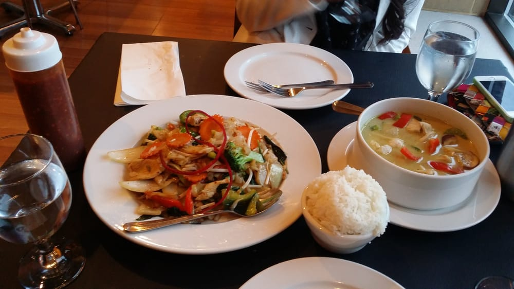 Possibly the best thai food in arlington heights or for Arlington thai cuisine