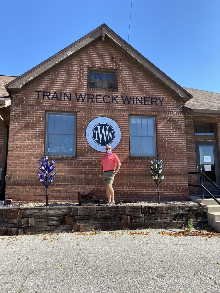 Train Wreck Winery: 112 N Phillips St, Algona, IA