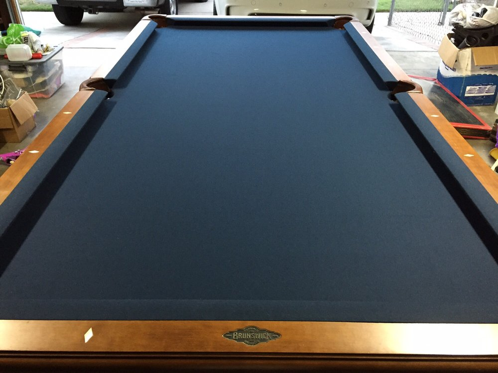 Photo Of Pool Table Guys   Montclair, CA, United States. Brunswick Camden  Table