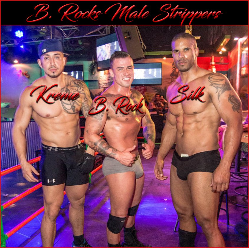 Service offered by male stripper