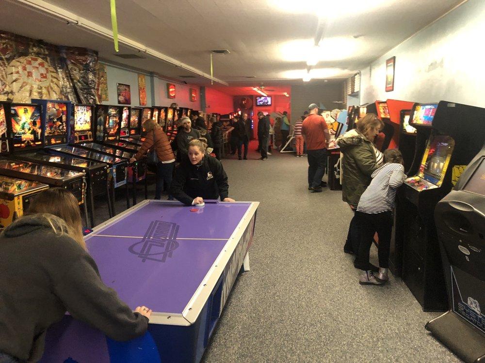 Klassic Arcade: 206 South State St, Gobles, MI