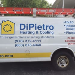 Photo Of Dipietro Heating Cooling Bradford Ma United States This Van