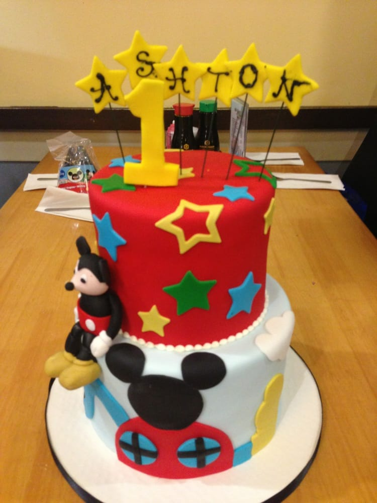 Mickey Mouse Birthday Cake Yelp